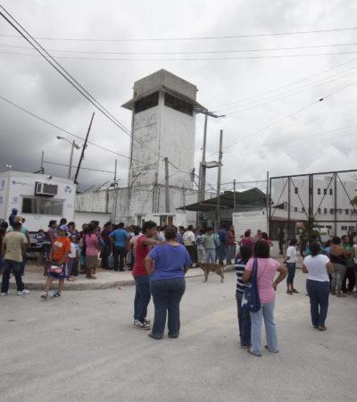 Detecta CEDH 'jaulas de castigo' en la cárcel de Cancún