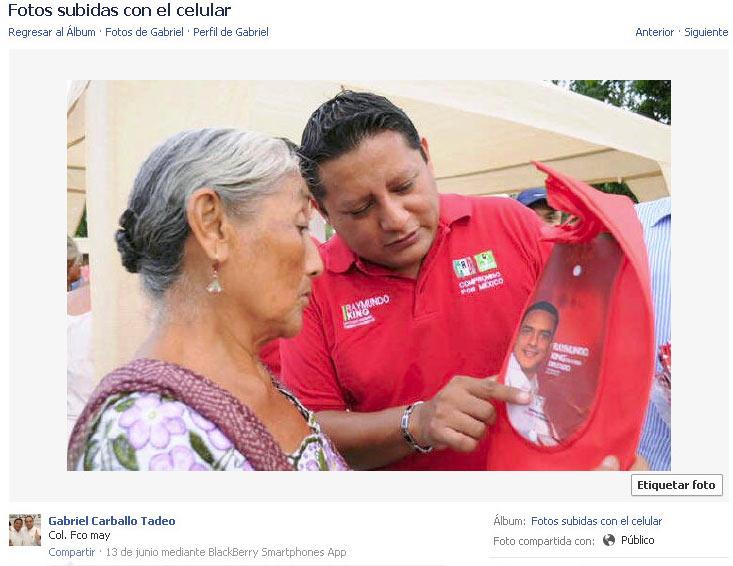 Se exhibe diputado electorero como brazo de la coacción priista del voto en Quintana Roo