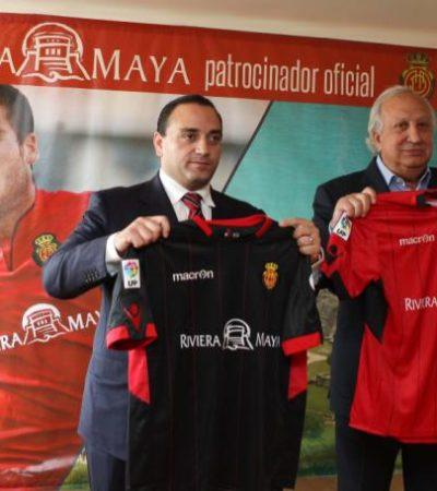 Desembolsará QR casi 2 mde para patrocinar a 2 equipos españoles; firma Borge acuerdo de publicidad con Mallorca