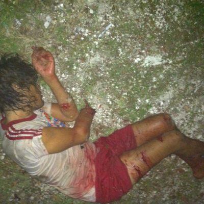 Ataca cocodrilo a un hombre en la laguna Nichupté de Cancún y le arranca parte de un brazo