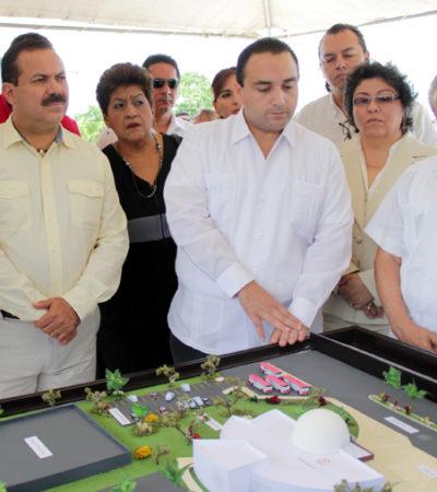 Dan banderazo al proyecto del Planetario de Cancún