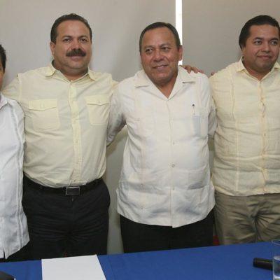 Respalda Zambrano a Julián Ricalde en Cancún y le exige al Gobernador frenar política de ataques contra ayuntamientos de oposición
