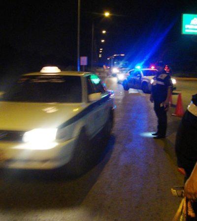 Caen 82 automovilistas en el alcoholímetro durante el fin de semana