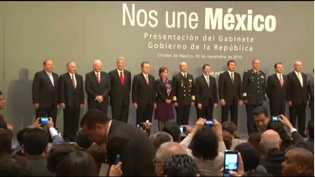 No hubo sorpresas: anuncian el 'gabinetazo' de Peña Nieto en el retorno del PRI al poder; Pedro Joaquín Coldwell, en la Sener, el único por QR