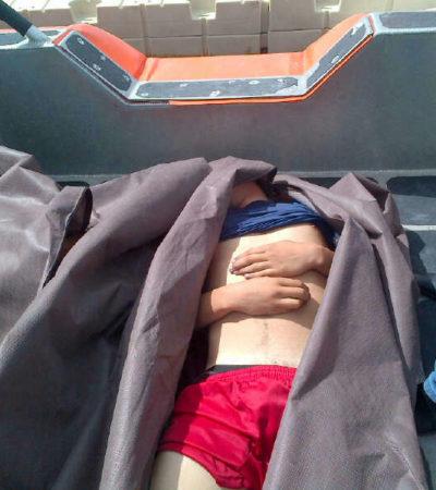 Se voltea en el mar balsa con 5 jóvenes de Isla Mujeres que salieron a pescar: mueren 2