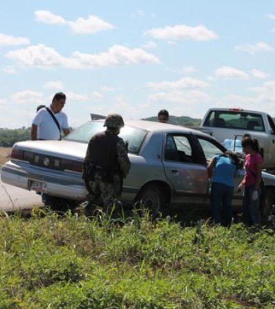Investigan ataque a balazos a hombre en la carretera Ucum-La Unión