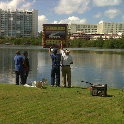 Colocan señalización en la laguna Nichupté para evitar nuevos ataques de cocodrilos