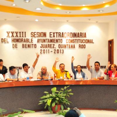 Rechaza Cabildo de Benito Juárez candidaturas independientes