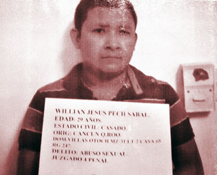 Capturan a otro pederasta en Cancún: violó a una vecina, una niña de 3 años