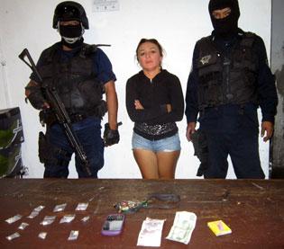 Dan formal prisión a 'La Wacasha' de Cozumel por narcomenudeo