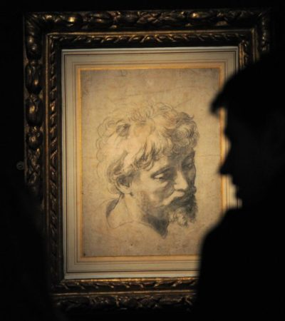 Venden dibujo del pintor renacentista Rafael en 36.5 mde