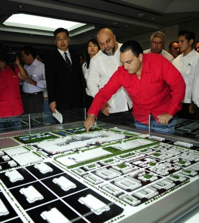 """Se pronuncian fundadores de Cancún contra el 'Dragon Mart'; denuncian """"permisos ilegales"""" y advierten afectaciones """"muy negativas"""""""