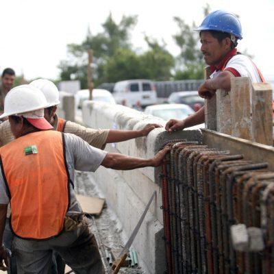 No demolerán todo el muro del puente Calinda, sino sólo la parte superior, aclara delegado de Fonatur