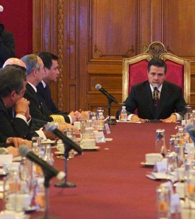 Rescata Peña Nieto a por lo menos 4 estados de sus deudas; QR no aparece en la lista