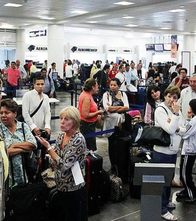 Interceptan a otro grupo de centroamericanos con documentos falsos en el aeropuerto de Cancún