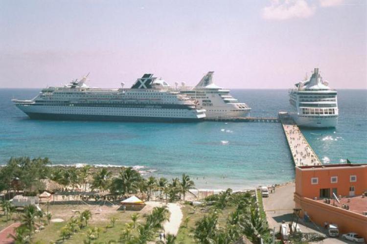 Cerrará Mahahual el 2012 con el arribo de 7 cruceros