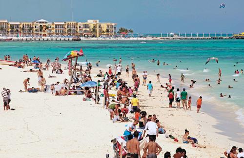 No alcanzará QR los 17 millones de turistas en 2012; cerrará el año con 16.5 millones