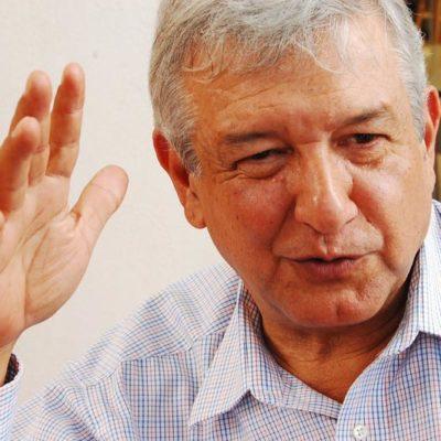 """Rechaza Obrador rebasar tope de campaña: """"buscan equipararme con el corrupto de EPN"""""""