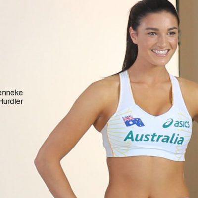 El nuevo video de la sexy corredora australiana Michelle Jenneke