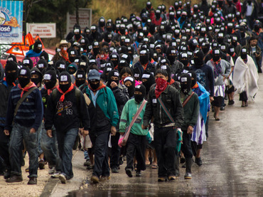 Reinicia EZLN guerra… de comunicados: anuncia resistencia civil y pacífica; si el PRI no se fue, nosotros tampoco, dice 'Marcos'