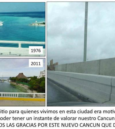 Rechaza Fonatur reducir la altura del muro contención del puente Calinda; hoy, protesta de ciudadanos a las 11:00 horas