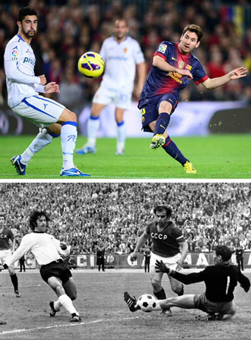 Reconoce Müller grandeza de Messi y le desea que su nuevo récord de goleo dure otros 40 años