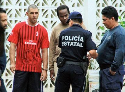 Recapturan en FCP a 8 de los cubanos fugados de estación migratoria en Chetumal