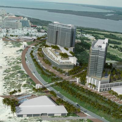 Por adeudo del predial, inician procedimiento de embargo del predio para el fallido proyecto 'La Herradura', frente a Playa Delfines