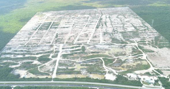 Impedirían estudios del INAH en el predio 'El Tucán' cualquier intento por construir el 'Dragon Mart' por lo menos durante la primera mitad del 2013