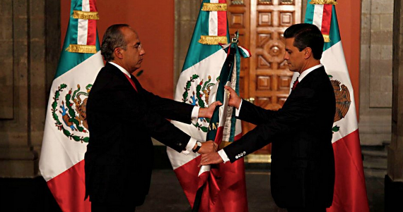 Ya está Peña en la Presidencia