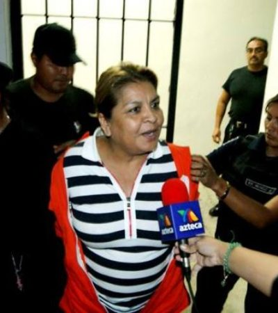 Niegan libertad bajo fianza a ex Alcaldesa de Tulum
