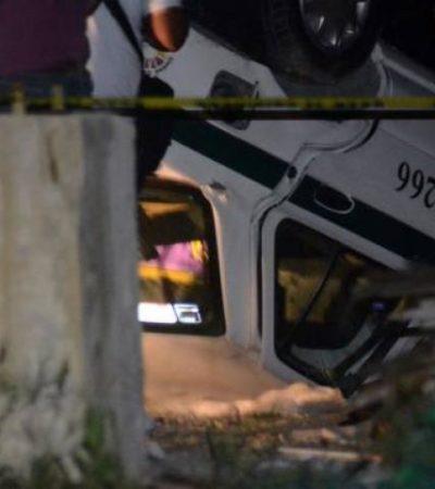 Persiguen y acribillan sicarios a otro taxista de Cancún