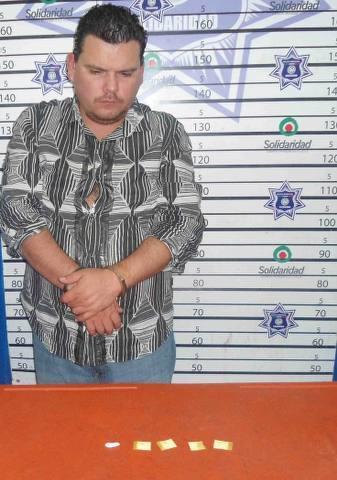 Detienen con cocaína a Sergio López Guzmán, el júnior incómodo de un ex representante del Gobierno de QR en Playa