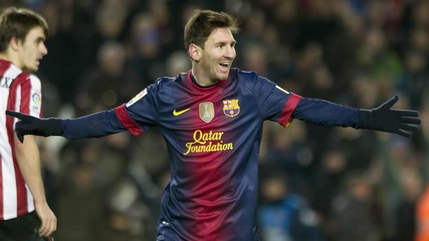 Rompe Messi el récord de Müller, vigente desde 1972, como máximo goleador en un año y va por más
