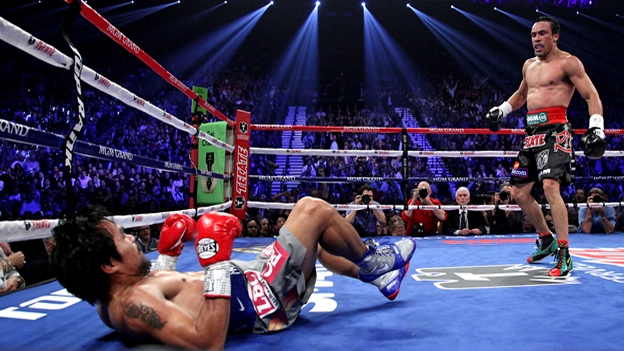 Inhabilitan a Pacquiao durante 4 meses hasta que un médico descarte daño cerebral tras el KO contra Márquez