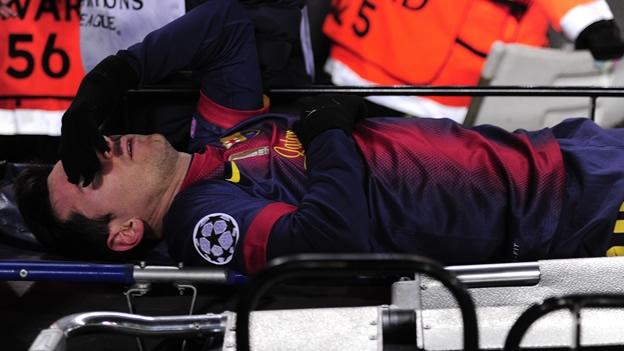 Termina Messi lesionado en partido que buscaba romper récord de goleo