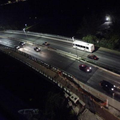 Reabren el puente Calinda en Cancún