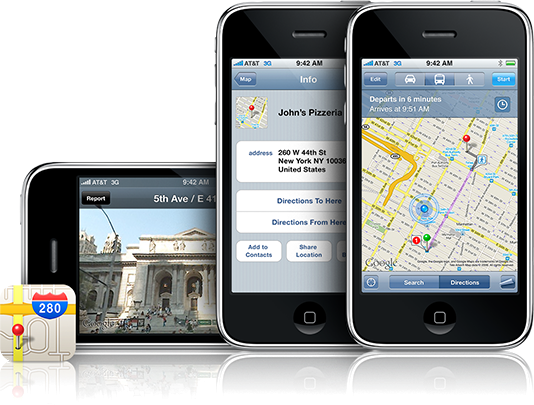 Regresa Google Maps al iPhone por todo lo alto
