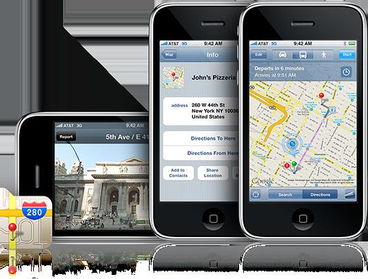 Regresa Google Maps al iPhone por todo lo alto