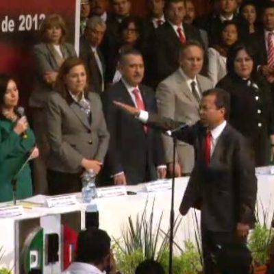Eligen a César Camacho Quiroz como nuevo presidente del PRI; la ex Gobernadora de Yucatán queda como segunda