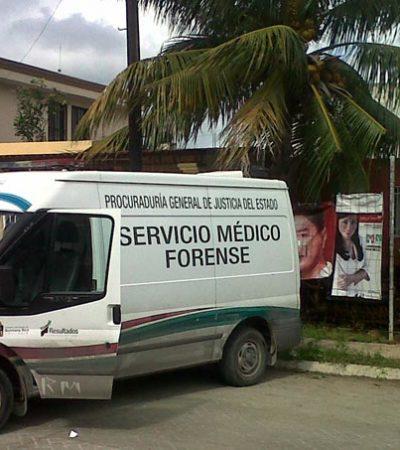 Hallan a un hombre con tres heridas en el fraccionamiento Barrio Maya, el primer asesinato violento del 2013 en Cancún