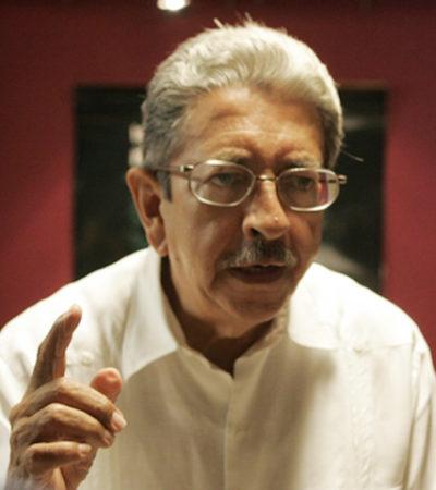 Fallece Max Vega Tato, activista y político, vocero de Morena en Cancún