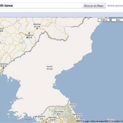 Corea del Norte deja de ser invisible para Google Maps