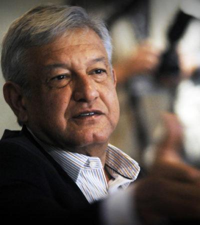 """""""NUESTRO PAÍS NO DEBE SER EL HAZMERREÍR DE NADIE"""": Urge Obrador a Peña Nieto a cancelar gira por Francia"""