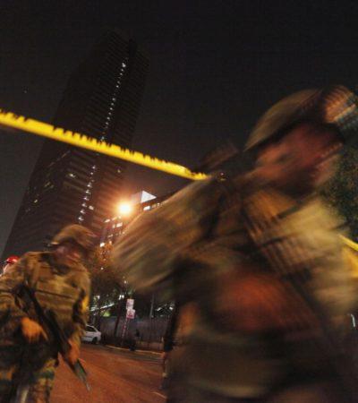 EXPLOSIÓN EN LA TORRE DE PEMEX: Confirma Gobernación 25 muertos y más de 100 heridos