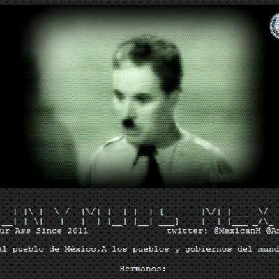 Hackea 'Anonymous México' página de la Sedena