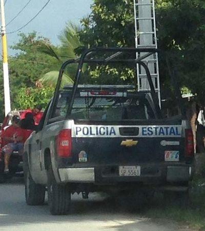 Acusa PRD a Borge de usar a la policía estatal para fines electorales