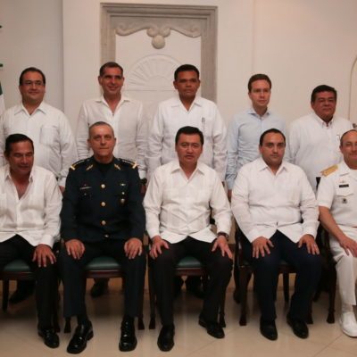 Se reúne en Cancún Gabinete de Seguridad de Peña con 7 Gobernadores del Sur-Sureste