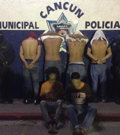IMPIDEN EJECUCIÓN EN CANCÚN: Rescatan a 2 'Zetas' cuando eran trasladados a su muerte en cajuela de un taxi y detienen a 4 'Pelones'