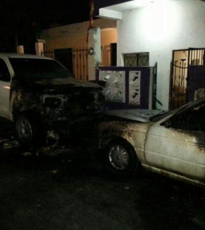 Sufre funcionario del Ayuntamiento de BJ atentado: queman 2 vehículos a las puertas de su vivienda en la Región 91